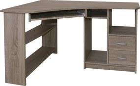 Rohový PC stôl JANA