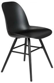 ZUIVER ALBERT KUIP ALL BLACK stolička