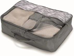 Sivý úložný box Cosatto Travel,26x40cm