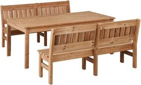 Záhradný set z masívu ThermoWood - PROWOOD - SET L10 - Samostatný set