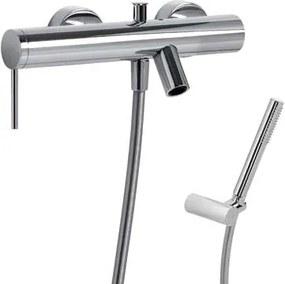 TRES - MONO-TERM® baterie pro vanu-sprchu Ruční sprcha (034.116.01) s nastavitelným držákem, prot (06217801)