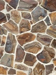 Obkladový štiepaný kameň Andezit dúhový 10-15cm-drobný obklad