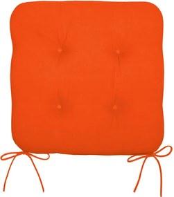 Podsedák na stoličku oranžový