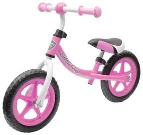 BABY MIX Nezaradené Detské odrážadlo bicykel Baby Mix TWIST ružové Ružová |