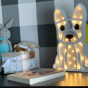 BULDOG | LED stolná lampička Farba: Biela