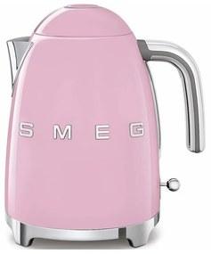 SMEG 50's Retro Style rychlovarná kanvica 1,7l ružová KLF03PKEU, ružová