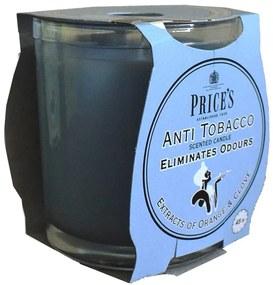 Price´s FRESH AIR vonná sviečka v skle Anti tobacco 350g