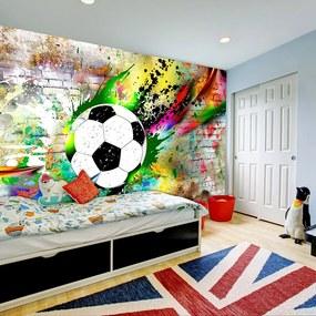 Fototapeta futbalová lopta v Urban štýle - Urban Gameplay