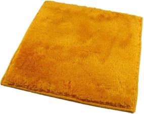 ROUTNER Kúpeľňová predložka UNI COLOR Žltá 10114 - Žltá / 50 x 50 cm 10114