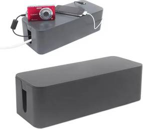 Nabíjací box Balvi Tidy Cable Organizer, šedý