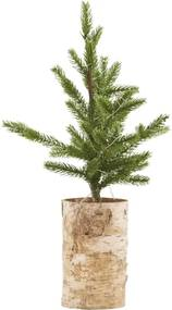 HOUSE DOCTOR Vianočný stromček so svetielkami Wooden Baso malý