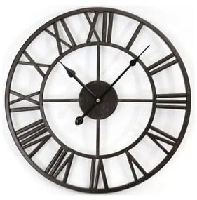 Platinet Kovové nástenné hodiny Vintage 1xAA PL0201