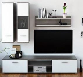 TEMPO KONDELA Waw New obývacia stena dub truflový / biela