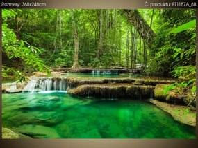 Fototapeta Vodopád Erawan v Thajsku 368x248cm FT1187A_8B