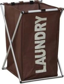 TEMPO KONDELA Laundry Typ 1 kôš na prádlo tmavohnedá