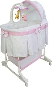 MILLY MALLY Nezaradené Multifunkčná kolíska Milly Mally Sweet Melody simple pink Ružová |