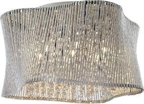 Luxera 46104 Zonda stropné kryštál 7x40W