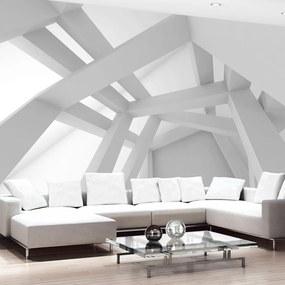 Fototapeta Bimago - White Construction + lepidlo zadarmo 250x175 cm