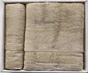 Soft Cotton Osuška a uterák HAZEL Hnedá