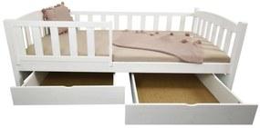 FA Oľga 2 180x80 detská posteľ Farba: Prírodná, Variant rošt: Bez roštu (-10 Eur)