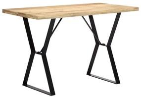 vidaXL Jedálenský stôl z mangového dreva 120x60x76 cm