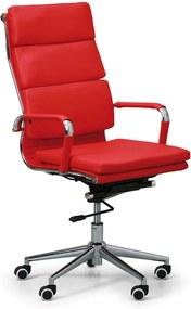 Kancelárske kreslo Kit, červená
