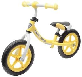 BABY MIX Nezaradené Detské odrážadlo bicykel Baby Mix TWIST žlté Žltá  