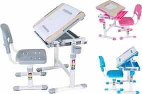 Rastúci stôl a stolička Bambino - viac farieb