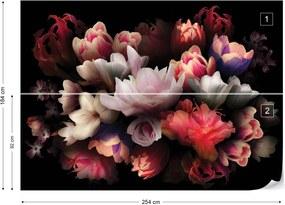 Fototapeta GLIX - Flowers 6 + lepidlo ZADARMO Vliesová tapeta  - 254x184 cm