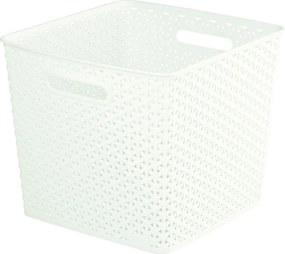 Úložný box MY STYLE SQR - krémový CURVER