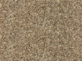 Metrážový koberec Santana 12 písková s podkladem resine - Rozměr na míru bez obšití cm