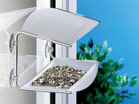 Vtáčie krmítko RADIUS DESIGN (PIEP SHOW transparent 395C) priesvitné