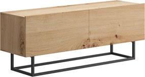 RTV stolík bez podstavy, dub artisan, SPRING ERTV120
