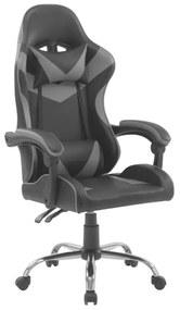 Kancelárska stolička RACING SILVER