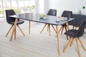 Jedálenský stôl Sweden 160cm grafit