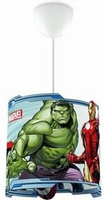 Philips 71751/35/16 Disney Avengers detské závesné svietidlo E27 1x23W bez zdroja
