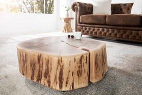 Bighome - Konferenčný stolík GOALA II 65 cm - hnedá