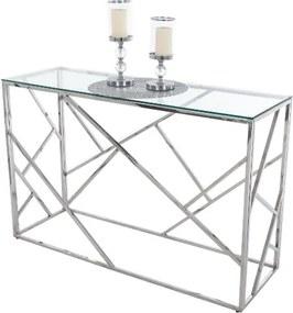 Tutumi Sklenený stolík 120 × 40 CT-01