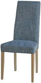 Sconto Jedálenská stolička CAPRICE buk/sivá