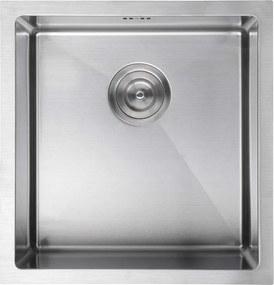 SAPHO - EPIC Nerezový dřez 44x43x23 cm (EP4443