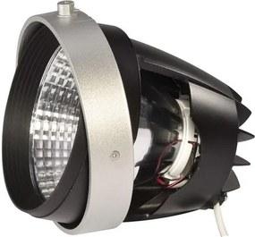 Stropné svietidlo SLV MODUL LED COB pre montážní rámeček AIXLIGHT PRO, stříbrošedé, 30°, 3000K 115193