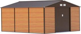 G21 Záhradný domček GAH 1300 - 340 x 382 cm, hnědý