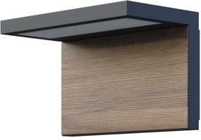 PANLUX NATURA N LED nástenné záhradné svietidlo - neutrálny PN42300005