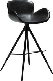 Čierna barová stolička DAN-FORM Denmark Gaia