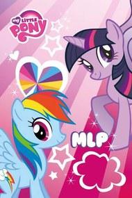 Detský uterák My Little Pony duha 60/40