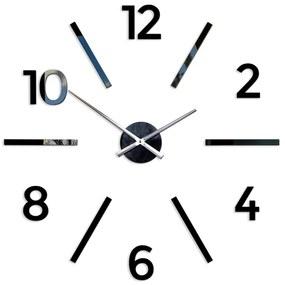Mazur 3D nalepovacie hodiny Aksel čierne