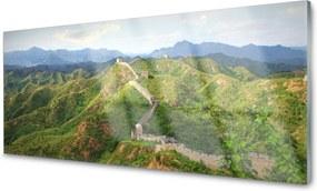 Obraz na skle Veľká Múr Hora Krajina