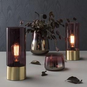 LEITMOTIV Stolná ružová lampa LAX