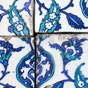 Bimago Tapeta - Royal blue dance role 50x1000 cm