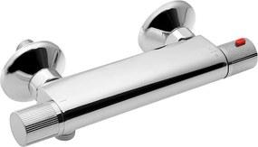 AQUALINE - ACTION nástěnná sprchová termostatická baterie, chrom (MB155)